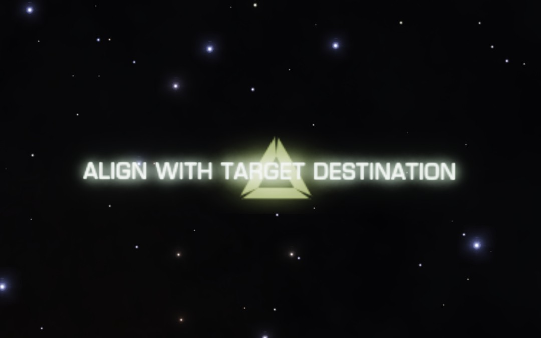 Align With Target Destination